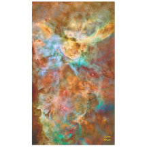 Carina Nebula, Hubble space photo Tablecloth