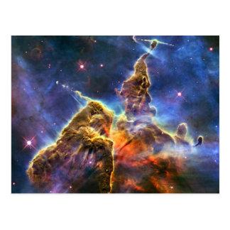 Carina Nebula Hubble Space Postcard