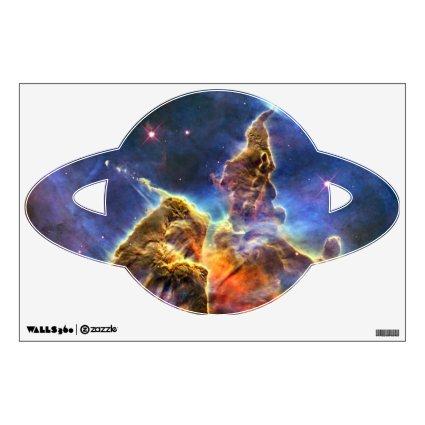 Carina Nebula Hubble Space Room Graphic