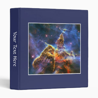 Carina Nebula (Hubble Telescope) 3 Ring Binders