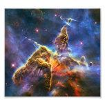 Carina Nebula (Hubble Telescope) Art Photo