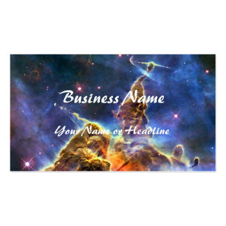 Carina Nebula (Hubble Telescope) Double-Sided Standard Business Cards (Pack Of 100)