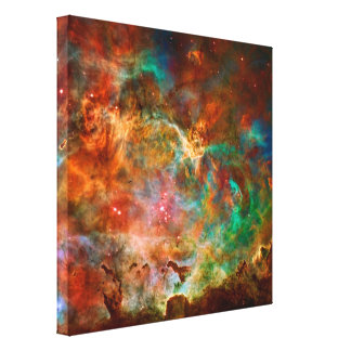 Carina Nebula in Argo Navis constellation Canvas Prints