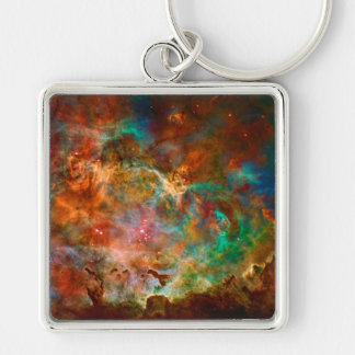 Carina Nebula in Argo Navis constellation Keychain