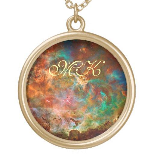 Carina Nebula in Argo Navis constellation Custom Jewelry