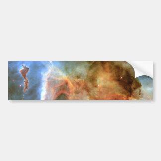 Carina Nebula Keyhole Detail Space Bumper Sticker