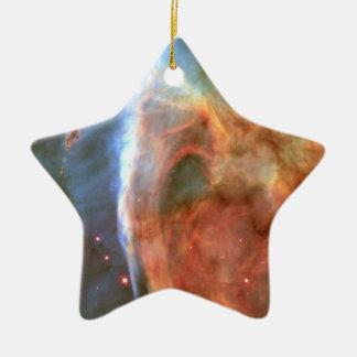 Carina Nebula Keyhole Detail Space Ceramic Ornament