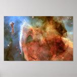 Carina Nebula Keyhole Detail Space Poster