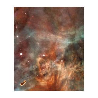 Carina Nebula marble look Canvas Print