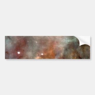 Carina Nebula Marble Look NASA Bumper Sticker