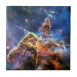 Carina Nebula Mystic Mountain Detail Ceramic Tiles