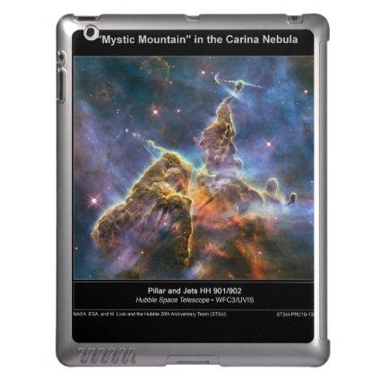 Carina Nebula Mystic Mountain iPad case