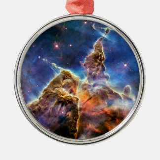 Carina Nebula Mystic Mountain Outer Space Photo Metal Ornament