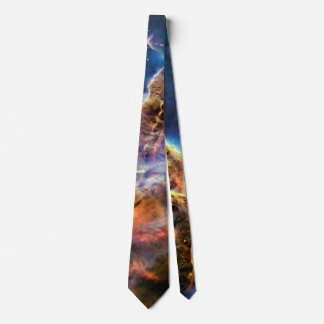 Carina Nebula Mystic Mountain Outer Space Photo Neck Tie
