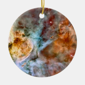Carina Nebula NASA Hubble Telescope Space Photo Ceramic Ornament