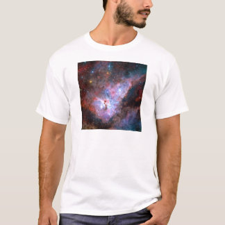Carina Nebula NGC 3372 72 x 72 Light Year Region T-Shirt
