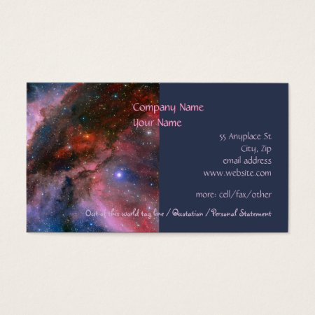 Carina Nebula - Our Breathtaking Universe Business Card