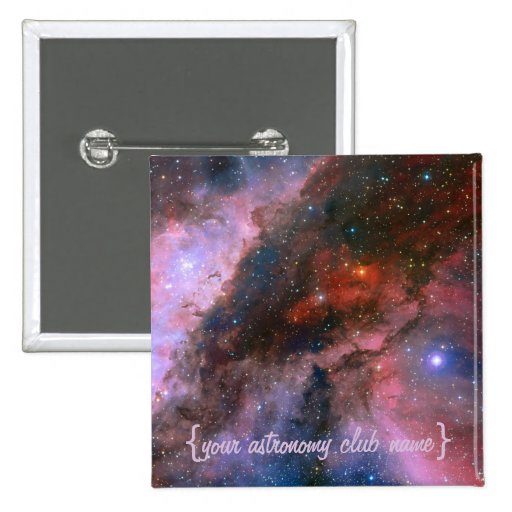 Carina Nebula - Our Breathtaking Universe Pinback Buttons