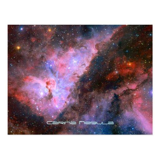 Carina Nebula - Our Breathtaking Universe Post Cards