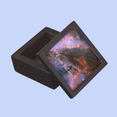 Carina Nebula - Our Breathtaking Universe Premium Trinket Box