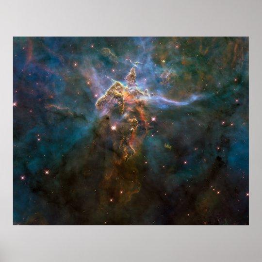 Carina Nebula Poster - 20 Years of the Hubble