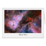 Carina Nebula - Saying Thank You Card