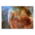 Carina Nebula Shadow and Light Greeting Cards