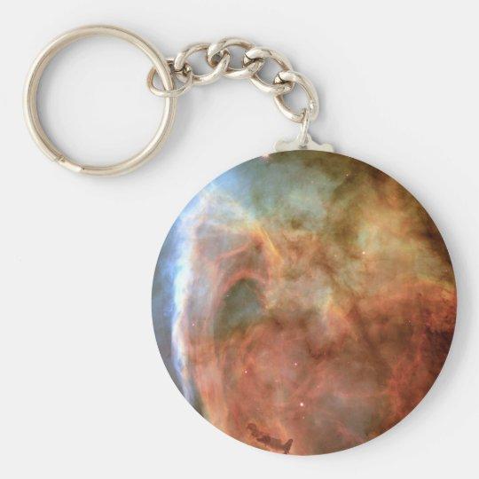 Carina Nebula Shadow and Light Keychain