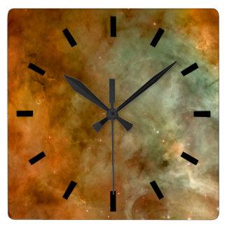 Carina Nebula Square Wallclock