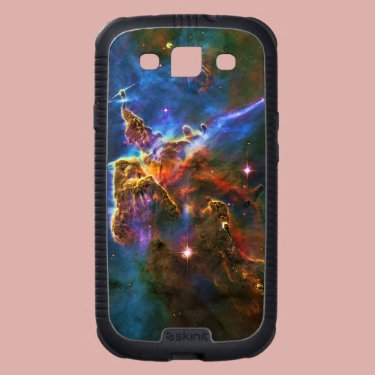 Carina Nebula Star Forming Gas Cloud Sculpture Galaxy S3 Cover