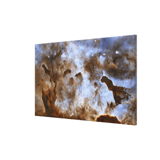 Carina Nebula Star-Forming Pillars Canvas Prints