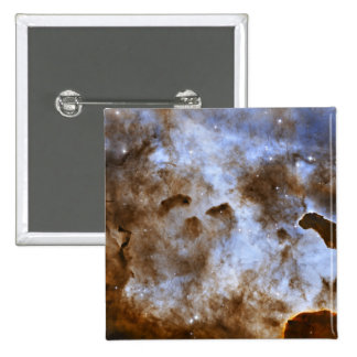 Carina Nebula Star-Forming Pillars Pinback Button