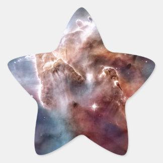 Carina nebula star sticker