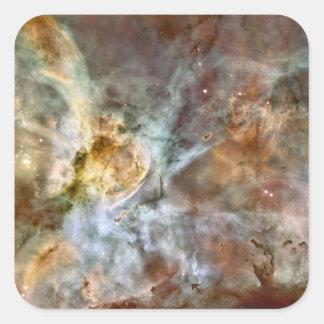 Carina Nebula Square Sticker