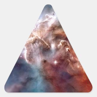 Carina nebula triangle sticker