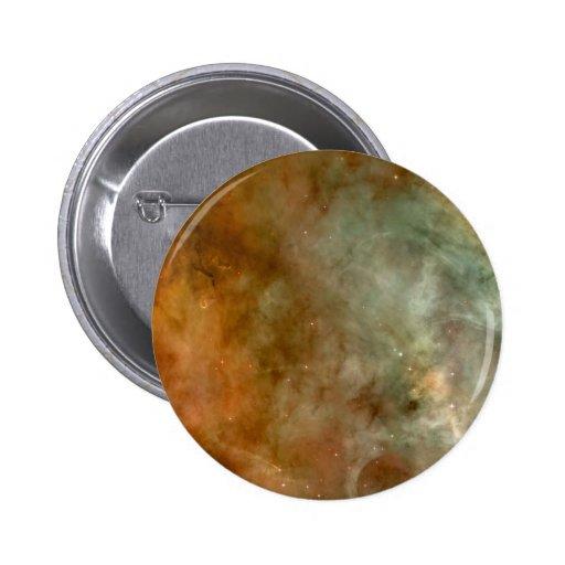 Carina nebulae in space button