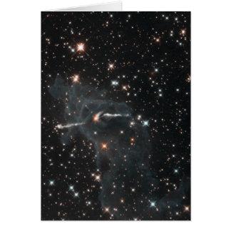 Carina nebulae in space cards