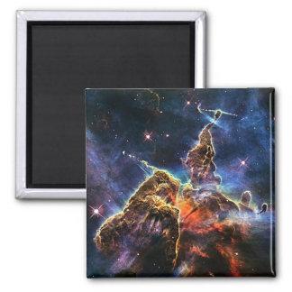 Carina nebulae in space NASA 2 Inch Square Magnet