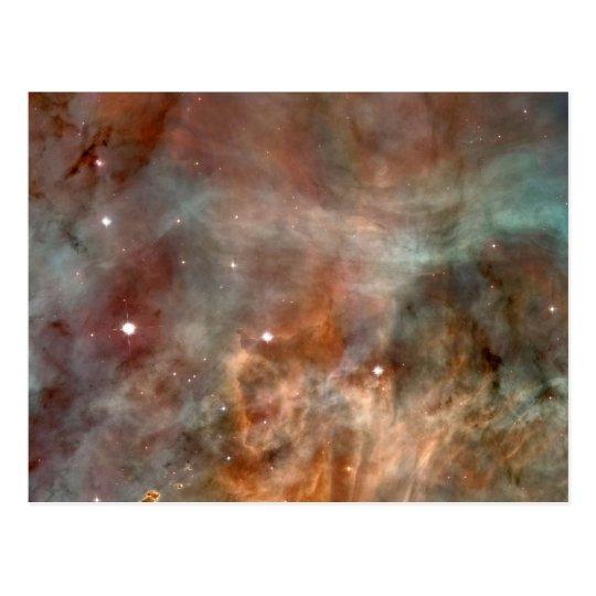 Carina Nebulae in space NASA Postcard