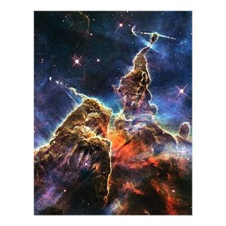 Carina Nebulae Letterhead Design