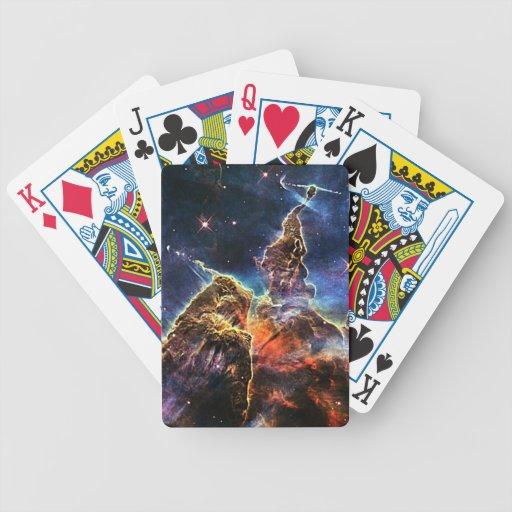 Carina Nebulae Poker Deck