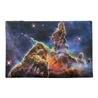 Carina Nebulae space in blue Travel Accessories Bag