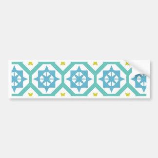 Carina pattern bumper sticker