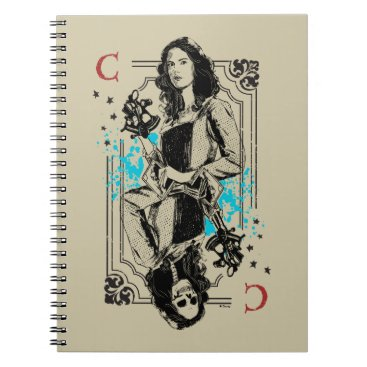 Disney Themed Carina Smyth - Fearsomely Beautiful Spiral Notebook