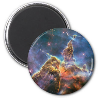 Carina's 'Mystic Mountain' 2 Inch Round Magnet