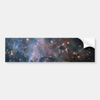 Carina's 'Mystic Mountain' in Infrared Bumper Sticker