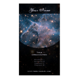 Carina's 'Mystic Mountain' in Infrared Business Card Templates