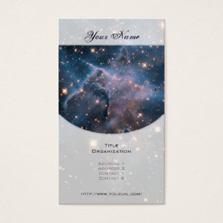 Carina's 'Mystic Mountain' in Infrared Business Card