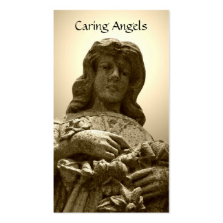 Caring Angels Nursing Care Business Cards