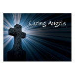 Caring Angels Nursing Care Large Business Cards (Pack Of 100)